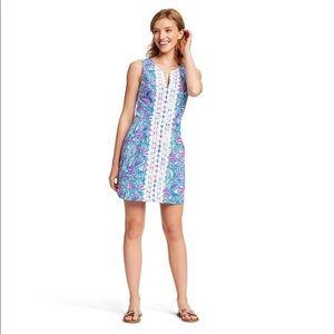 💗 Lilly Pulitzer Mini Dress Blue/Pink Target 16